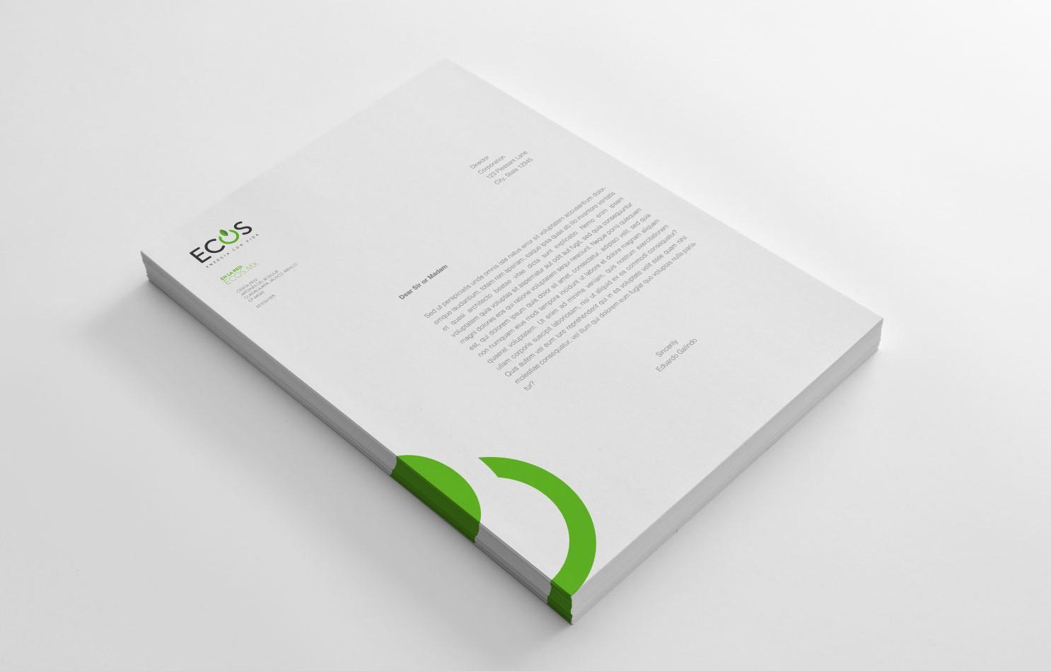 identidad-corporativa-logotipo-en-hoja-membretada-ecos