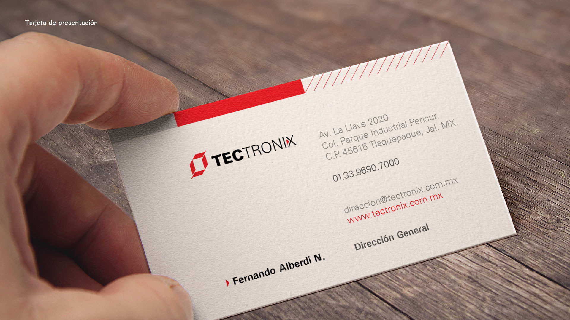 Identidad-corporativa-tectronix-tarjetas-presentacion